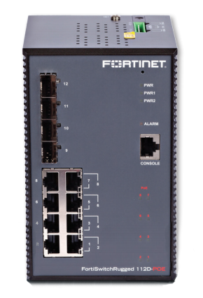 FortiSwitchRugged 112D POE