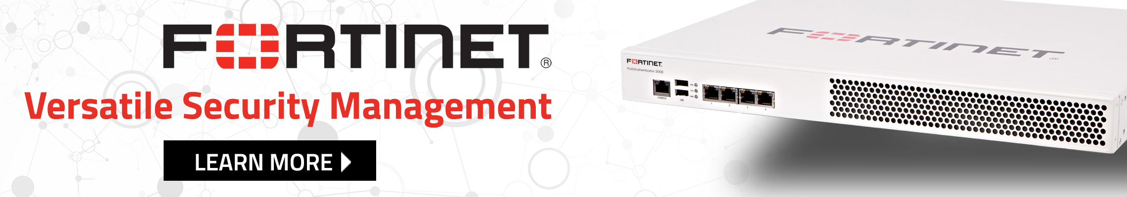 Fortinet Management Banner