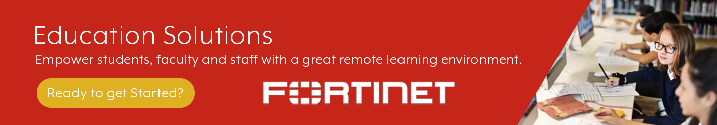 Fortinet Education Banner